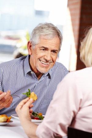 elder-man-eating-out