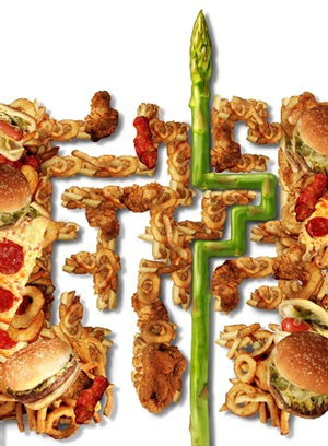 maze-to-represent-american-eating-habits