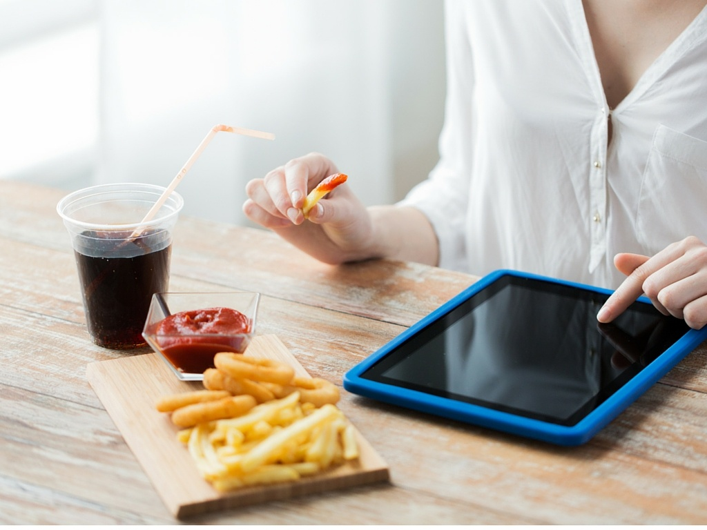 Fast food and technology
