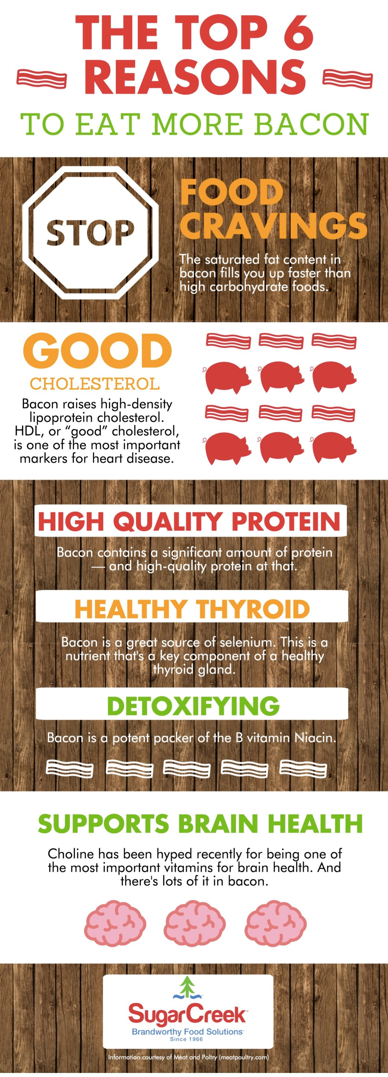 Need Reasons to Eat More Bacon? Check out this Infographic